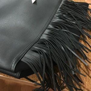 Victoria's Secret Bags - Victoria's Secret NWT tote with fringe on front